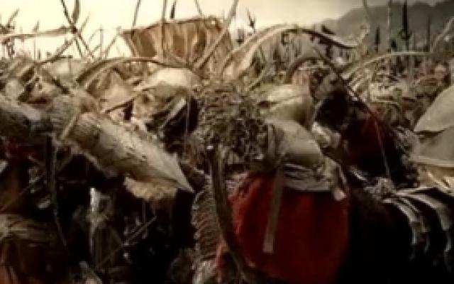 指环王3:王者无敌:最后的大战让人热血沸腾,这一段看了不下十遍!
