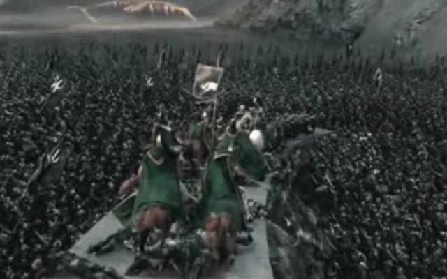 封神三部曲!史上最详解析《指环王2双塔奇兵》圣盔谷之战!