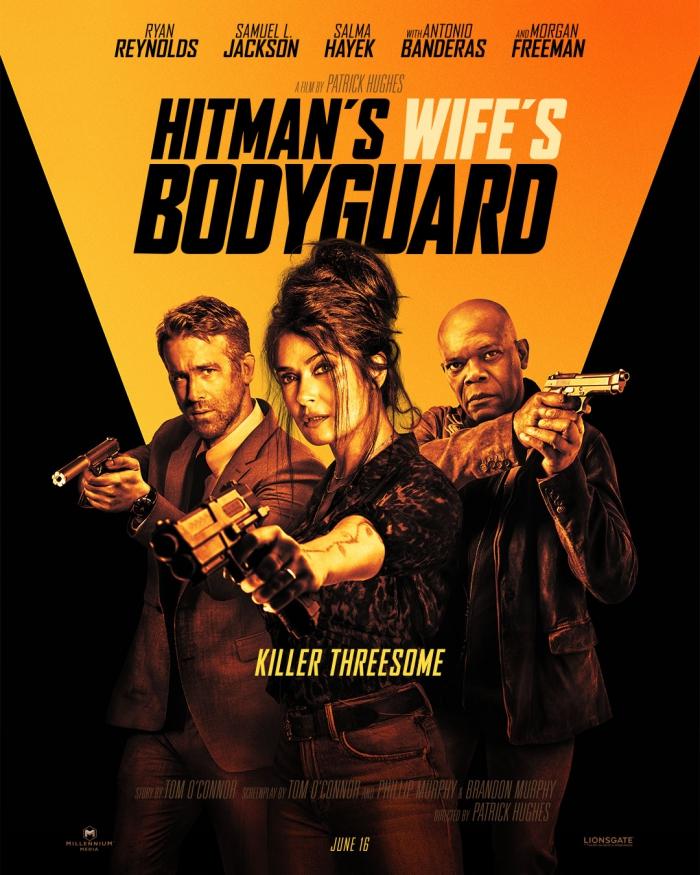 《杀手妻子的保镖》首曝预告 6月16日北美上映