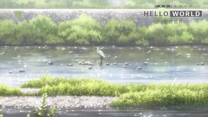 日本奇幻爱情动画电影《你好世界》内地即将上映