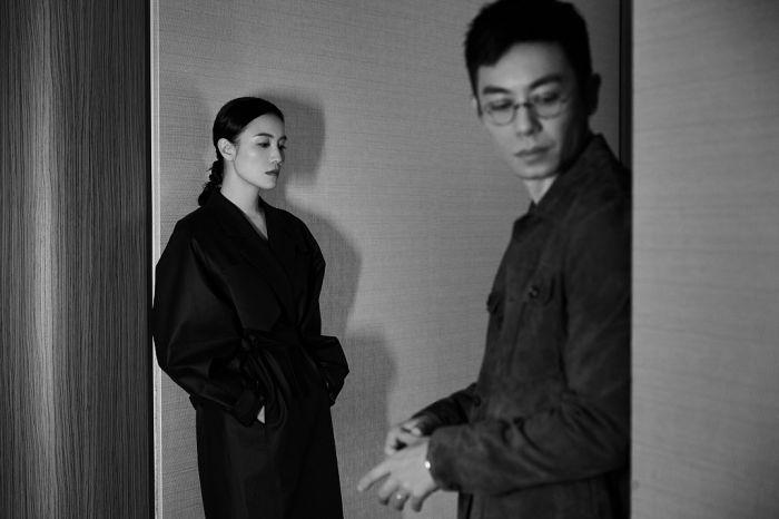 朱亚文宋佳拍摄诗意大片 黑白胶片质感烘托电影氛围
