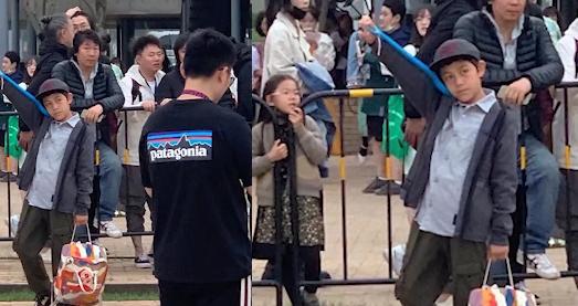 刘烨老婆带儿子与老狼看话剧 诺一长高不少超可爱