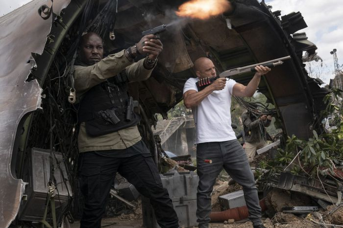 《速激9》北美上映首周票房超7000万美元 破疫情期间纪录